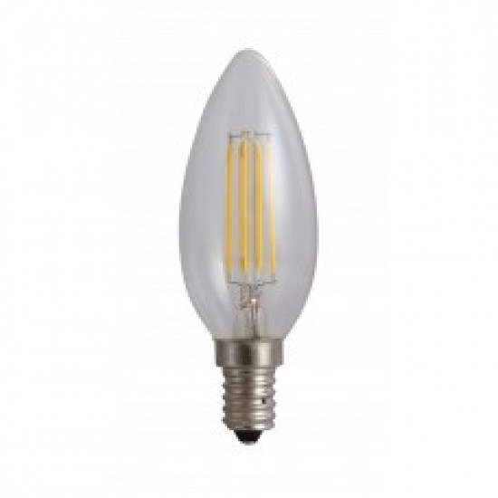 Bec Filament Lumanare E14/4W/480Lm/4000K (SPN6632) www.lightingstore.ro