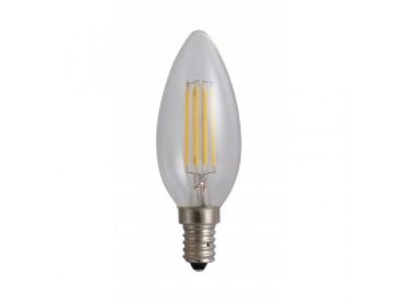 Bec Filament Lumanare E14/4W/220V/3000K