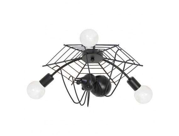 Lustra plafon Spider black 3 5365
