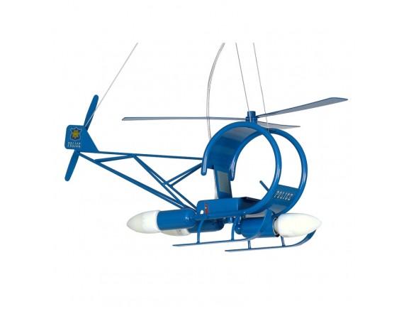 Pedule Candelabru Helikopter niebieski 4788