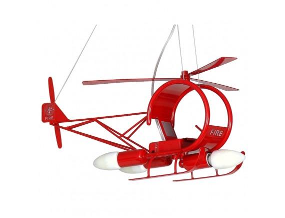 Pendul Helikopter czerwony 4786