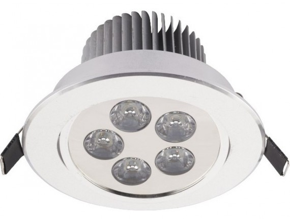 Spot  DOWNLIGHT LED 5 SILVER 6822