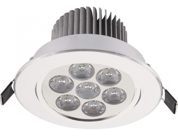 Spot  DOWNLIGHT LED 7 SILVER 6823