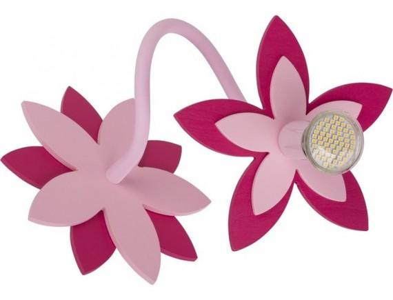 Aplica FLOWERS PINK I kinkiet 6893