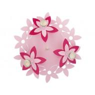 Plafoniera FLOWERS  PINK III plafon okr?g?y 6895