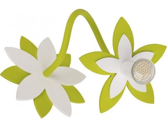 Aplica FLOWERS GREEN I kinkiet 6897
