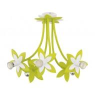 Lustra plafon FLOWERS GREEN V plafon 6901