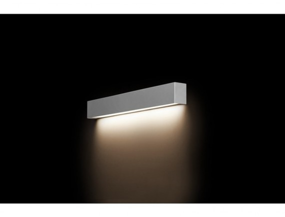Aplica STRAIGHT WALL LED SILVER S 9613