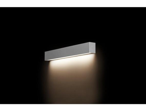 Aplica STRAIGHT WALL LED SILVER S 9613