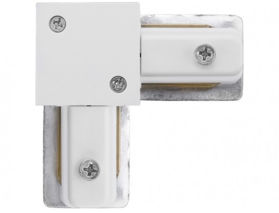 Conector 90 grade PROFILE L-CONNECTOR WHITE