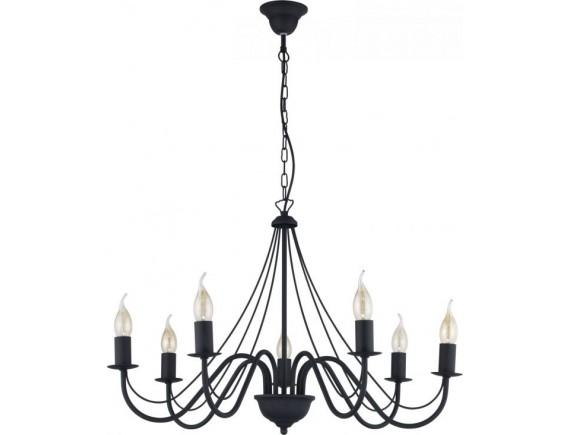 Lustra candelabru DIANA BLACK