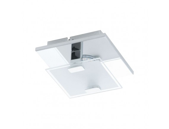 Plafoniera Vicaro, 93311, Crom satinat-Transparent, LED 2,5W, 180lm