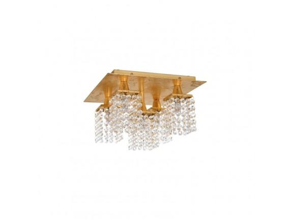 Plafoniera PYTON Auriu G9-LED, 97721