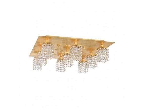 Plafoniera PYTON Auriu G9-LED, 97722