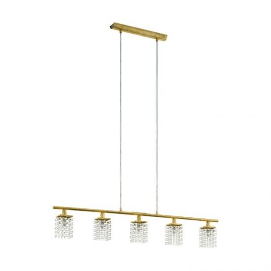 Lustra suspensie EGLO Pyton Gold, 97723 (97723) www.lightingstore.ro